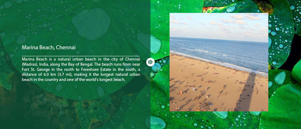 Marina Beach of Chennai
