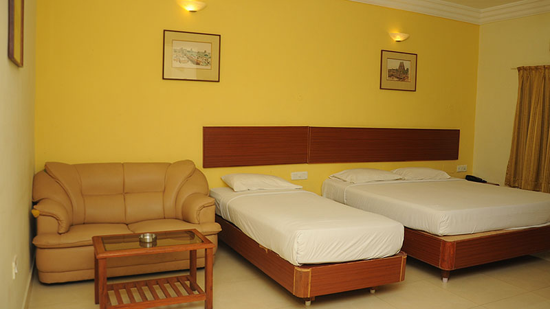 AC Hotel Rooms in Chennai